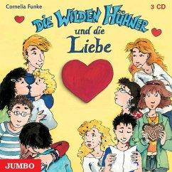 Die wilden Hühner und die Liebe / Die Wilden Hühner Bd.5 (3 Audio-CDs) - Funke, Cornelia