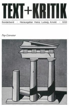 Pop - Literatur - Arnold, Heinz Ludwig (Hrsg.)