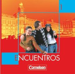 2 Audio-CDs / Encuentros Nueva Edicion Bd.1