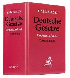 Deutsche Gesetze Ergänzungsband (ohne Fortsetzungsnotierung). Inkl. 67. Ergänzungslieferung
