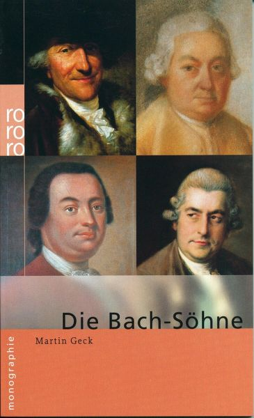 Bach-Söhne - Geck, Martin