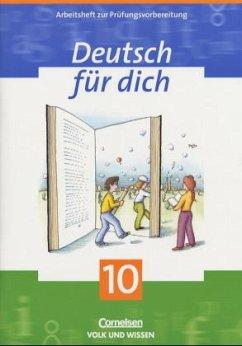 Deutsch für Dich 10. Arbeitsheft. Mit Lösungshe...