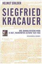 Siegfried Kracauer - Stadler, Helmut
