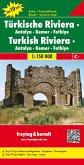 Freytag & Berndt Auto + Freizeitkarte Türkische Riviera - Antalya - Kemer - Fethiye 1 : 150.000; Turkish Riviera - Antal