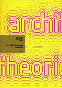 architektur_theorie.doc. - Bruyn, Gerd de / Trüby, Stephan u