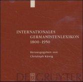 Internationales Germanistenlexikon 1800-1950, 1 CD-ROM