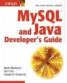 MySQL and Java Developer's Guide