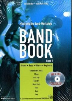 Band Book, m. 2 Audio-CDs