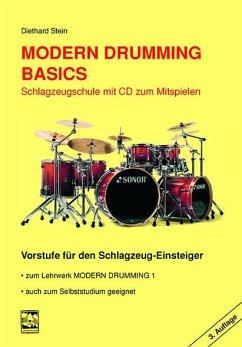 Vorstufe für den Schlagzeug-Einsteiger, m. Audio-CD / Modern Drumming zu Bd.1 - Stein, Diethard