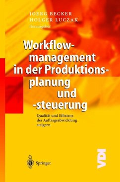 Workflowmanagement in der Produktionsplanung un...