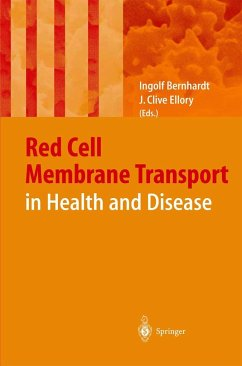 Membrane Transport in Red Blood Cells in Health and Disease - Bernhardt, I. / Ellory, J. C. (Hgg.)