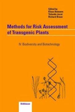 Methods for Risk Assessment of Transgenic Plants - Ammann, K. / Jacot, Y. / Braun, R. (eds.)