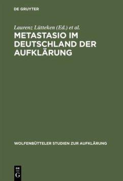 Metastasio im Deutschland der Aufklärung