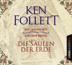 Die Säulen der Erde, 12 Audio-CDs - Follett, Ken
