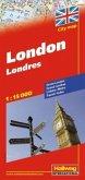 Hallwag CityMap London Stadtplan; Londres; Londra