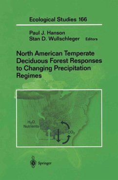 North American Temperate Deciduous Forest Responses to Changing Precipitation Regimes - Hanson, Paul / Wullschleger, Stan D. (eds.)