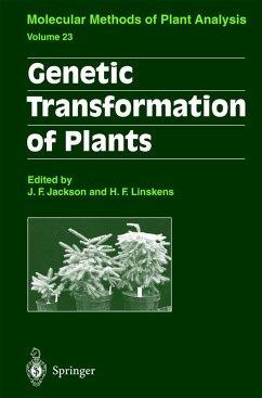 Genetic Transformation of Plants - Jackson, John Flex / Linskens, H. F. (eds.)