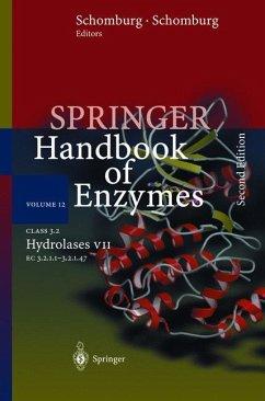 Class 3.2 Hydrolases VII - Schomburg, Dietmar / Schomburg, Ida (eds.)