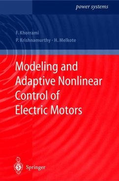Modeling and Adaptive Nonlinear Control of Electric Motors - Khorrami, F.; Krishnamurthy, P.; Melkote, H.