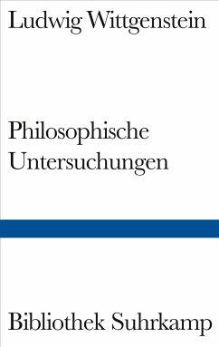 Philosophische Untersuchungen - Wittgenstein, Ludwig