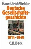 Deutsche Gesellschaftsgeschichte Bd. 4: Vom Beginn des Ersten Weltkrieges bis zur Gründung der beiden deutschen Staaten / Deutsche Gesellschaftsgeschichte Bd.4