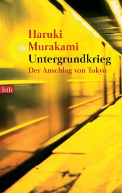 Untergrundkrieg - Murakami, Haruki