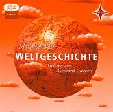 Weltgeschichte, Für Jugendliche und Erwachsene. Sprecher: Gerhard Garbers. 1 mp3-CD