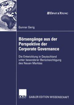 Börsengänge aus der Perspektive der Corporate Governance