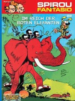 Im Reich der roten Elefanten / Spirou + Fantasio Bd.22 - Franquin, Andre.