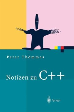 Notizen zu C++ - Thömmes, Peter
