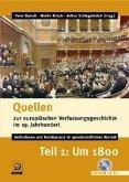 Quellen zur europäischen Verfassungsgeschichte im 19. Jahrhundert, CD-ROM. Tl.1