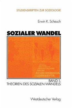Sozialer Wandel - Scheuch, Erwin K.