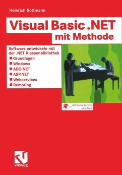 Visual Basic .NET mit Methode - Rottmann, Heinrich