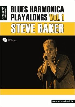Blues Harmonica Playalongs, m. Audio-CD. Vol.1