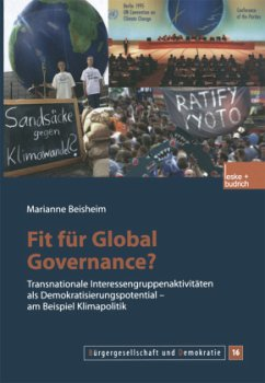 Fit für Global Governance? - Beisheim, Marianne