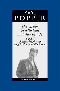 Die offene Gesellschaft und ihre Feinde II / Studienausgabe - Popper, Karl R.