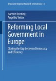 Reforming Local Government in Europe