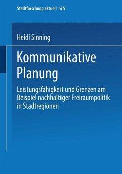 Kommunikative Planung - Sinning, Heidi