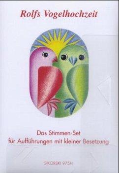 Rolfs Vogelhochzeit, Stimmen-Set
