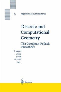 Discrete and Computational Geometry - Aronov, Boris / Basu, Saugata / Pach, Janos / Sharir, Micha (eds.)