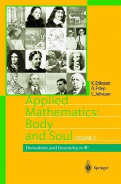 Applied Mathematics: Body and Soul - Eriksson, Kenneth;Estep, Donald;Johnson, Claes