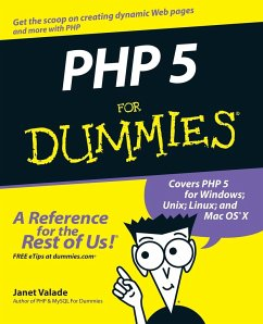 PHP 5 For Dummies - Valade, Janet
