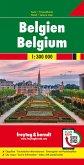 Freytag & Berndt Auto + Freizeitkarte Belgien; Belgique / Belgie