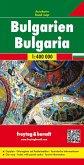Freytag & Berndt Auto + Freizeitkarte Bulgarien; Bulgarije. Bulgaria. Bulgarie
