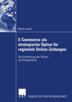 E-Commerce als strategische Option für regionale Online-Zeitungen