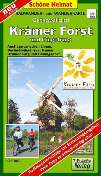 Doktor Barthel Karte Krämer Forst und Umgebung