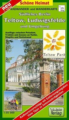 Doktor Barthel Karte Südliches Berlin, Teltow, ...