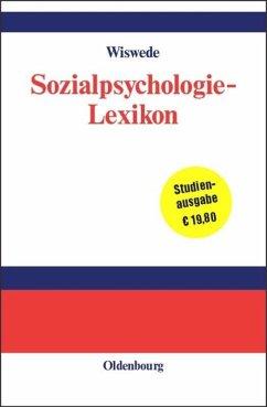 Sozialpsychologie-Lexikon - Wiswede, Günter