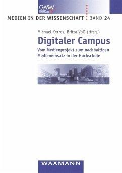 Digitaler Campus - Kerres, Michael / Voß, Britta / (Hgg.)