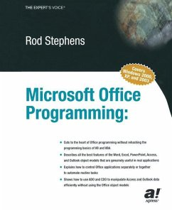 Microsoft Office Programming - Stephens, Rod